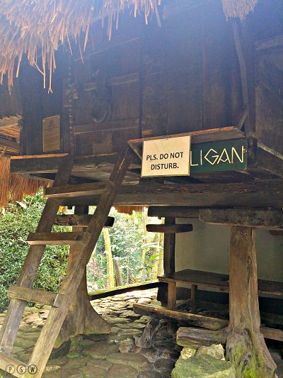 ifugao huts tamawan
