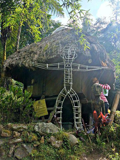 ifugao huts tamawan baguio