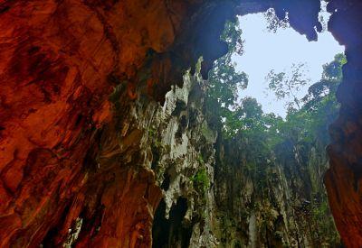 inside batu caves temple kuala lumpur malaysia