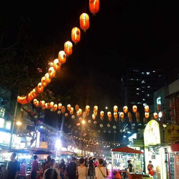 Jalan Alor at night