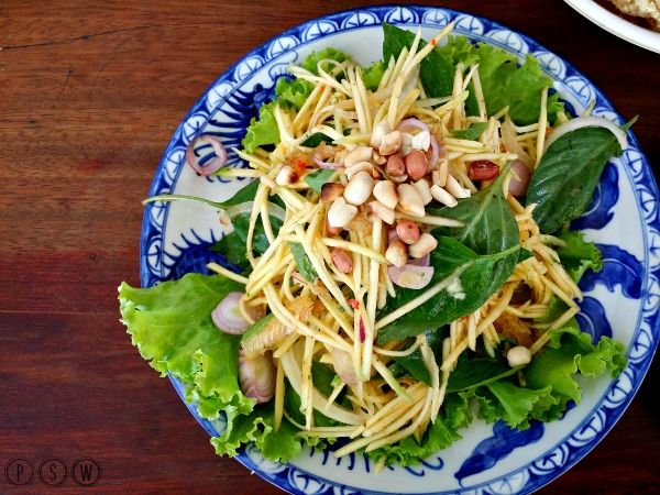 soup dragon mango salad pub street siem reap cambodia