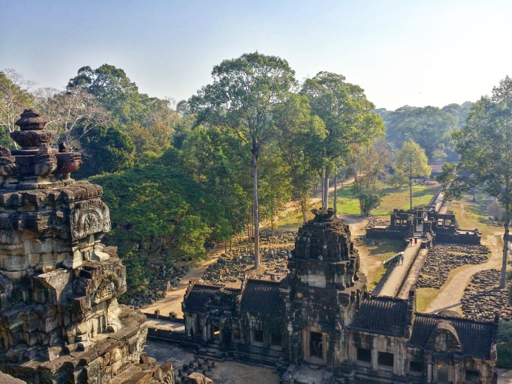 top view prasat baphuon