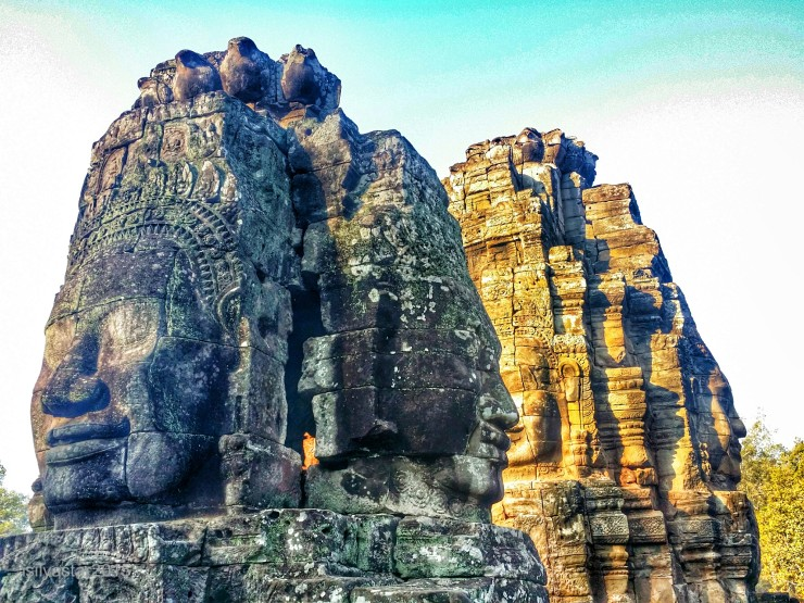 face towers of Bayon