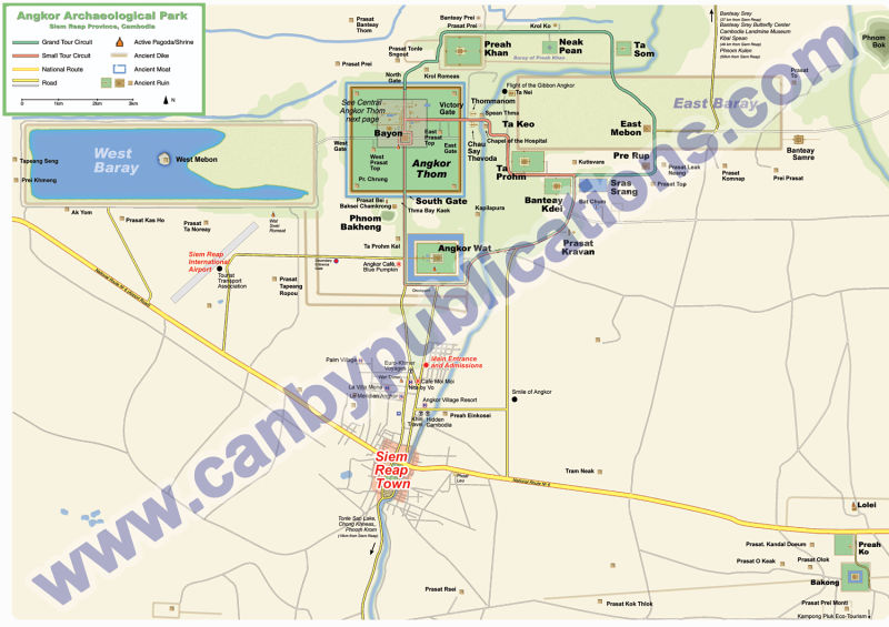 angkor map canby