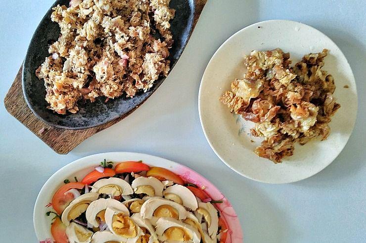 milas pampanga sisig paco salad chicharong bulaklak