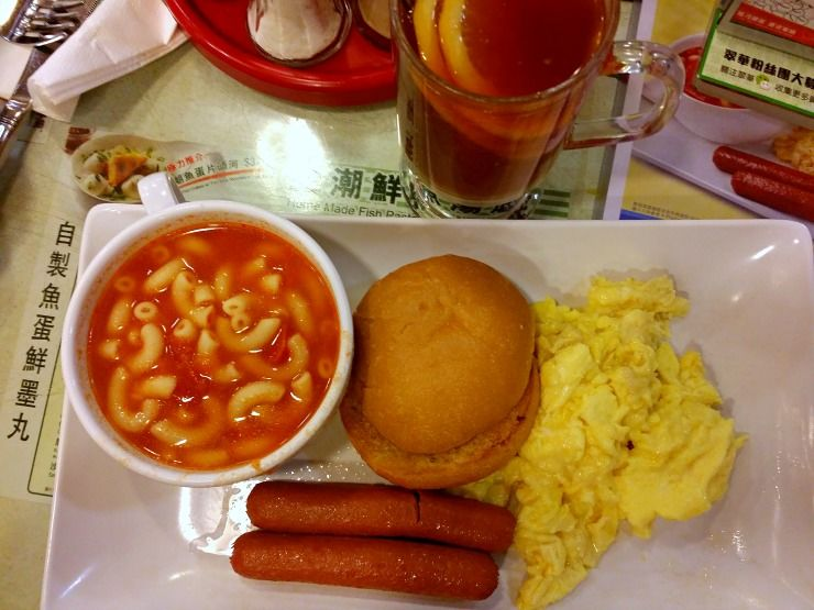 tsui wah specialty breakfast Hong Kong