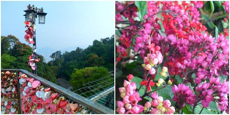 penang hill love lock