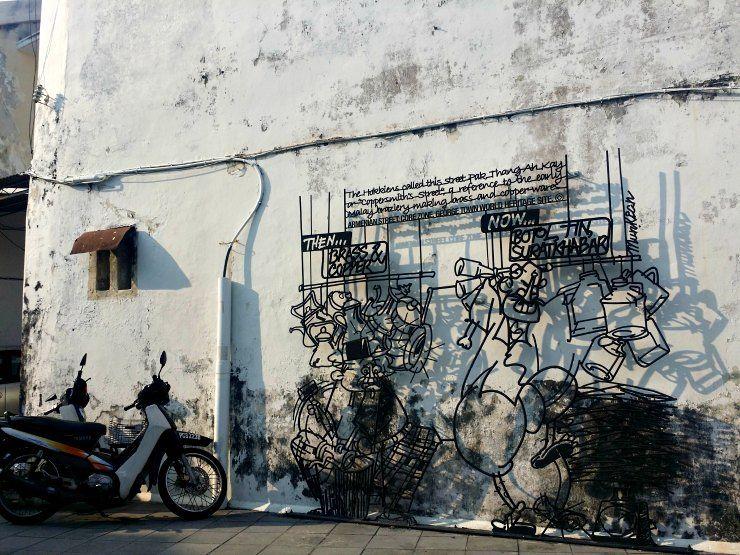 lebuh armenian george town street art penang