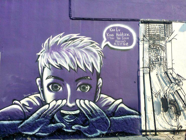 lorong soo hong hokkien george town penang street art