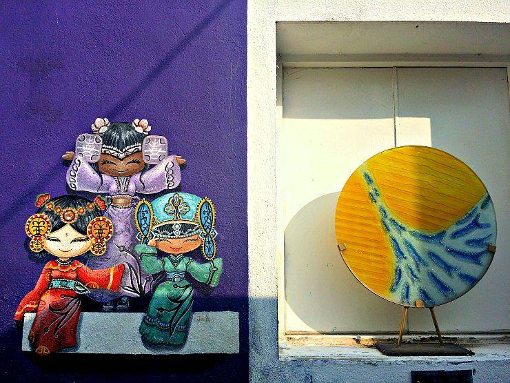 lorong soo hong george town penang street art