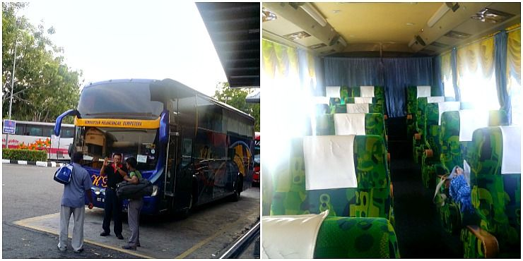 double decker bus from penang to melaka