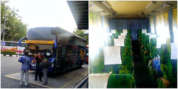 double decker bus from penang to melaka