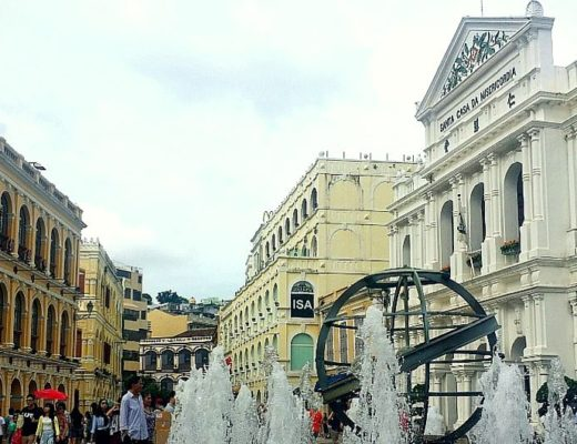 Macau on a budget Senado Square Macau