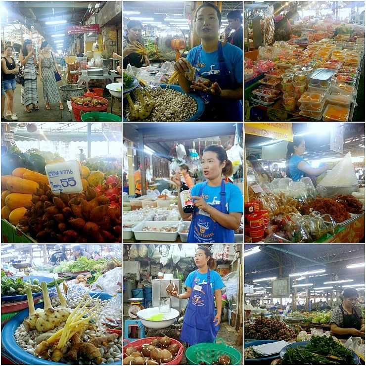 thai kitchen cookery centre local market visit