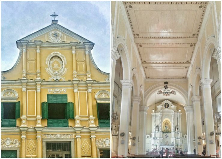 Macau travel tips st dominic church macau