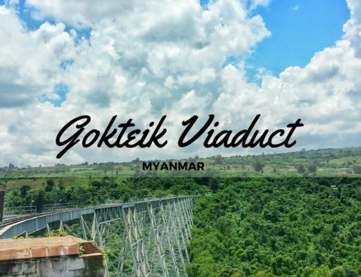 crossing the breathtaking gokteik viaduct