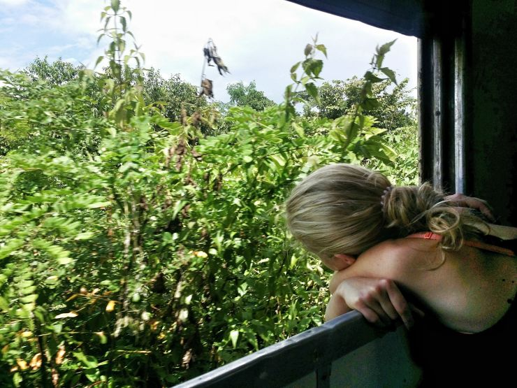 aboard the 131up train myanmar