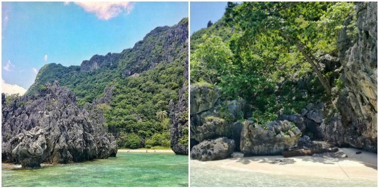 hidden beach talisay beach el nido tour c
