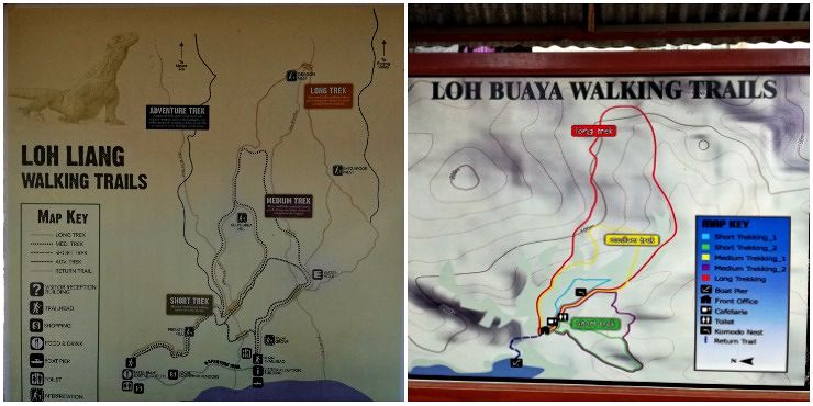 Komodo National Park Walking trails