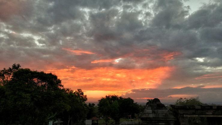 ratu boko sunset