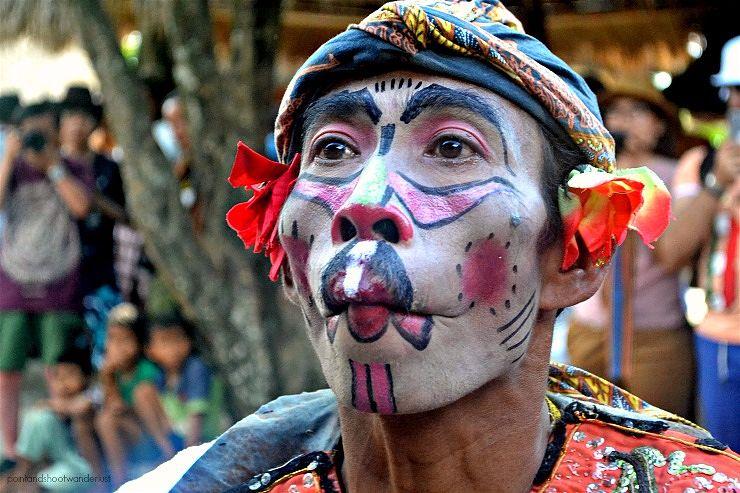 sasak sade court jester lombok indonesia