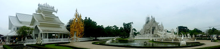 white temple chiang rai panorama
