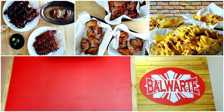 Angono Balwarte menu