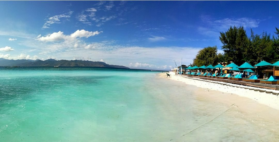 gili islands lombok indonesia