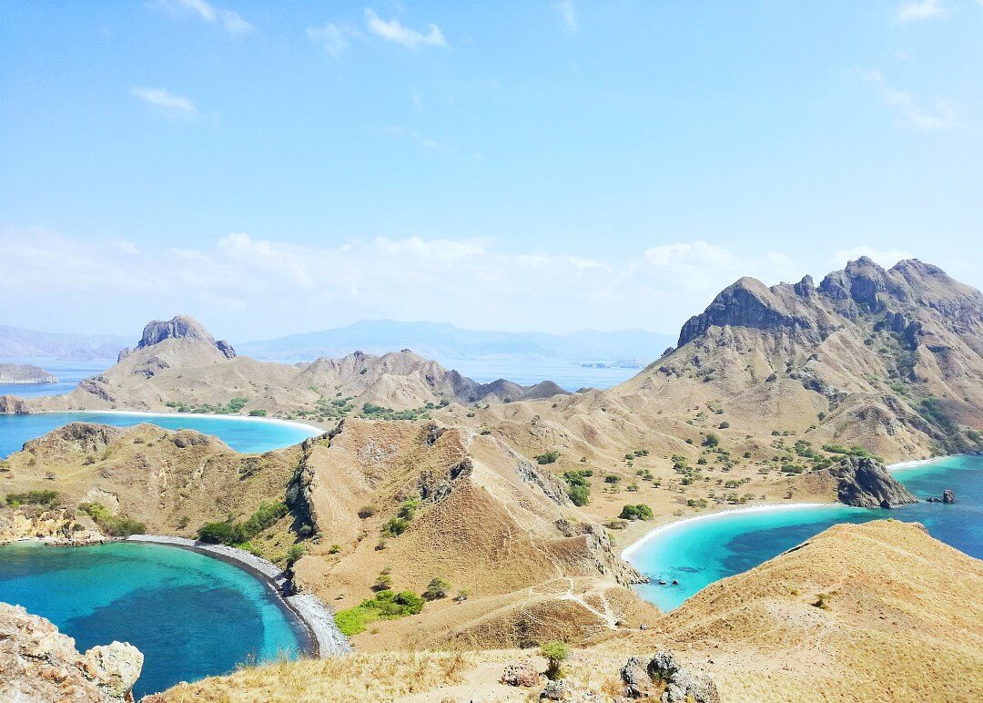 Padar Island: This hike will give you views for days!