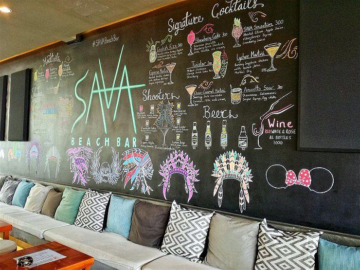 where to eat el nido sava beach bar