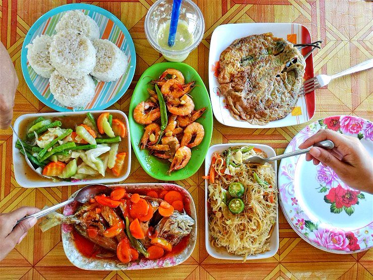 where to eat nacpan beach el nido