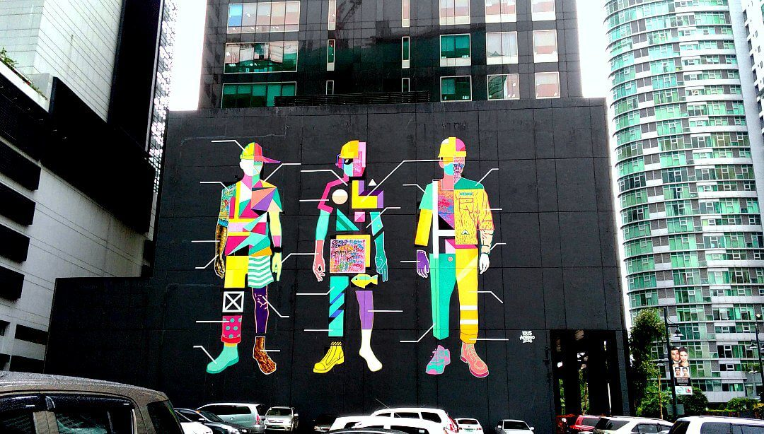 street art in BGC taguig manila philippines