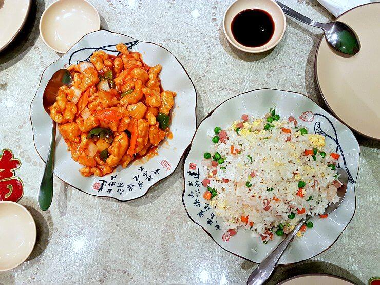 three peppers restaurant food