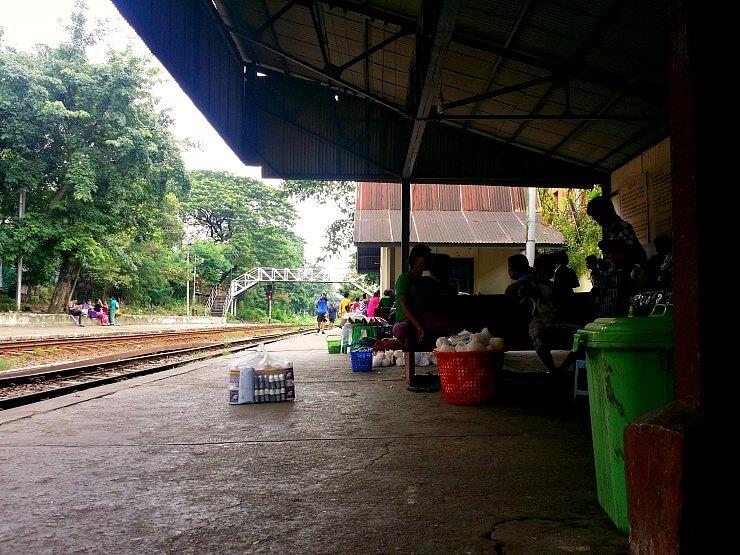 yangon circle line train station