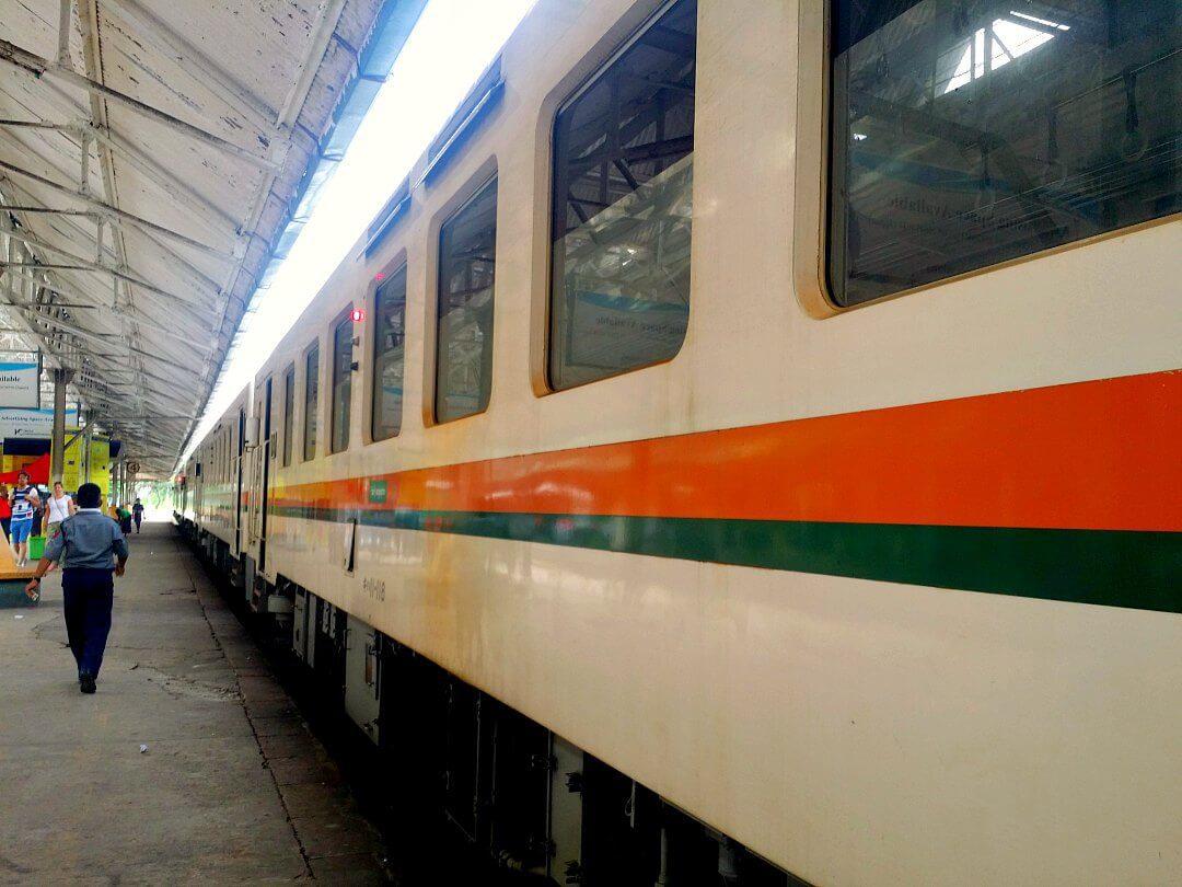 yangon circular train railway