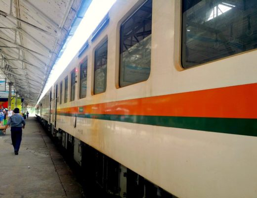 yangon circular train railway