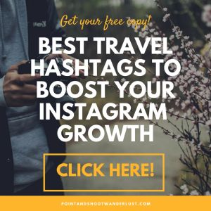 best travel related hashtags to boost instagram growth