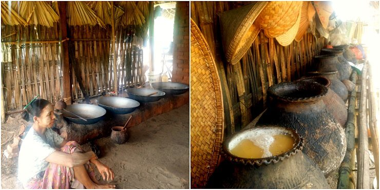 bagan palm sugar factory mt popa