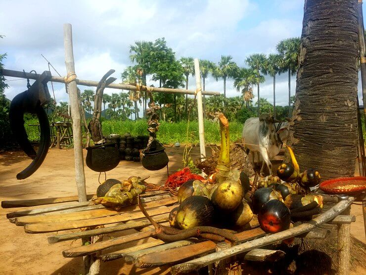 bagan palm sugar factory