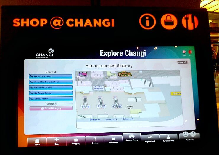 explore changi airport singapore