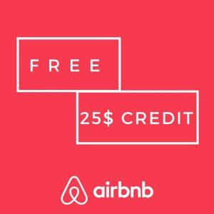 free 25 dollar airbnb credit