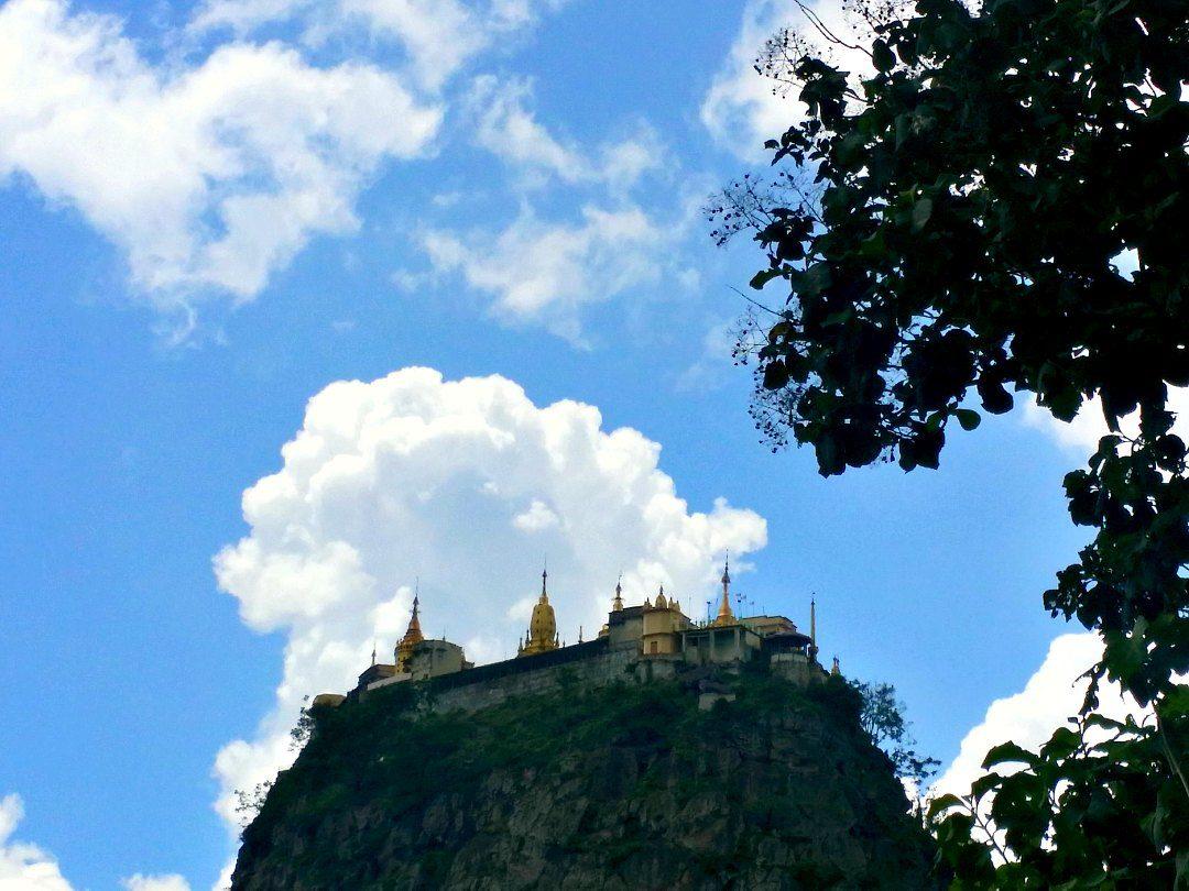 mount popa bagan popa taung kalat monastery