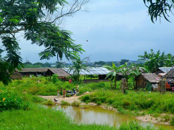 yangon suburbs