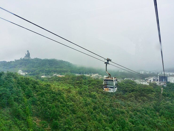 hong kong ngong ping 360 cable car standard