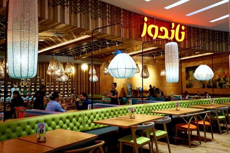 Nandos Qatar interior 1