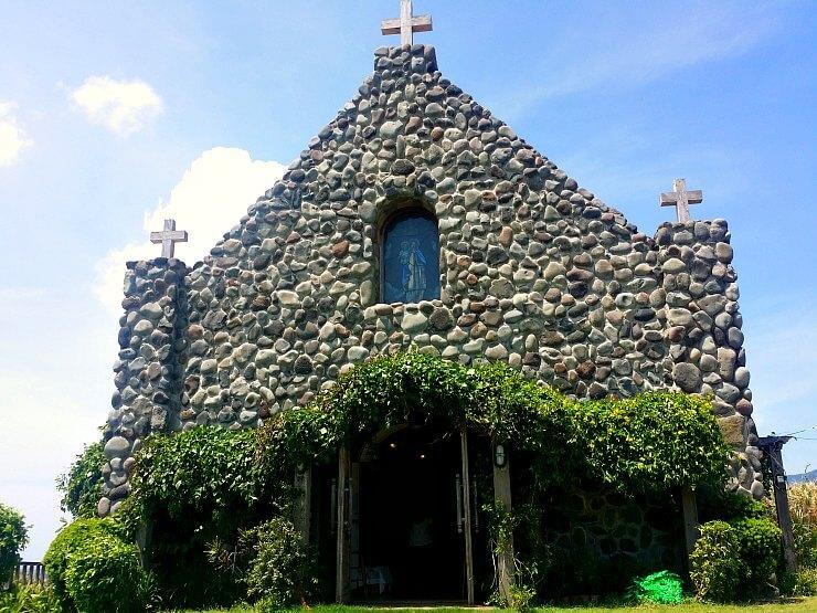 batanes mt carmel chapel tukon church facade