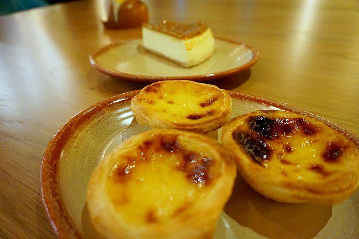 nando's natas lotus cheesecake