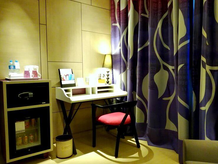 privilege double room mercure jakarta sabang hotel indonesia