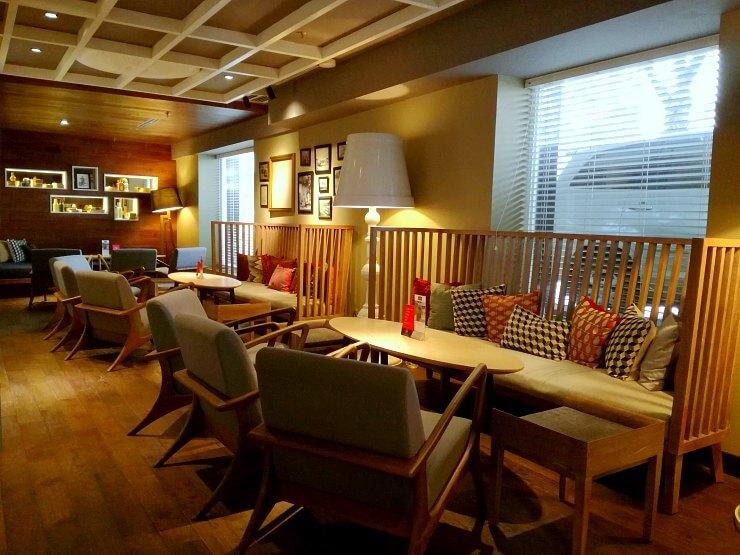the lobby lounge mercure jakarta sabang hotel