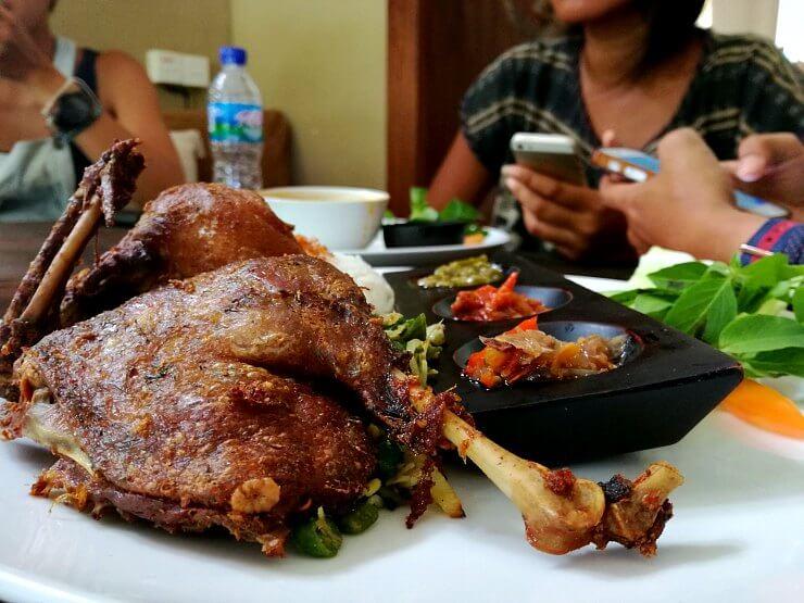 warung eropa bebek goreng bali indonesia